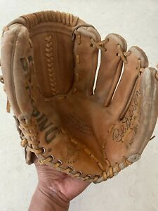 Spalding Baseball Glove Bob Gibson Advisory Staff 42-3205 RHT Right Hand Throw