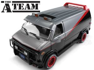 """A-Team"" 1983 GMC Vandura 1:24 Scale - Greenlight Diecast Model Car"