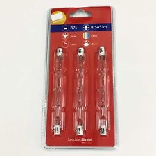 R7s Halogen Leuchtstab 400 Watt 3er Pack Set Leuchtmittel Dimmbar Lampe Leuchte