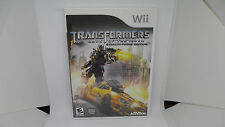Transformers: Dark of the Moon Stealth Force Edition Nintendo Wii, 2011 Complete