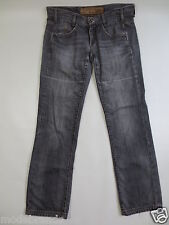 Jeans FTP Freeman t. porter saloon zip fly relaxed 30 Grey Denim used/g48