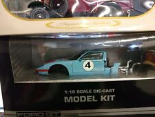 BEANSTALK DIECAST FORD GT  Gulf colors  MODEL KIT 1/18 new in box unopened