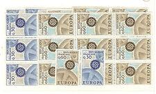 YVERT N° 1521 ET 22 x 17 EUROPA 1967 TIMBRES FRANCE NEUFS **