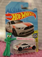 2015 FORD MUSTANG GT #222✰white;Borja✰SPEED GRAPHICS✰2018 i Hot Wheels WW CASE K