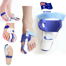 1pair Big Toe Bunion Foot Pain Relief Hallux Valgus Night Splint Straightener EA