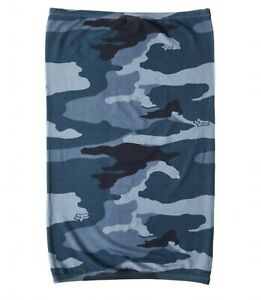 Fox Racing Blue Camo Neck Gaiter Adult One Size