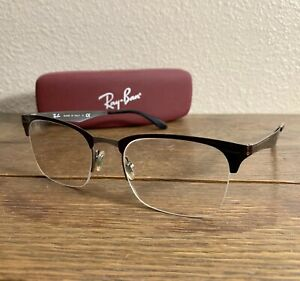 Ray Ban Womens Reading Glasses Includes Case Made In Italy Pre-Owned