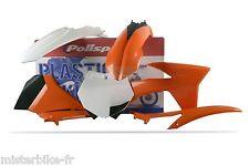 Kit plastiques Coques Polisport KTM 250 SX-F SXF 250  2012 couleur Origine