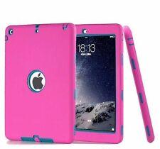 iPad 2/3/4 /MINI/Air 2 Defender Case - Three Piece Hybrid Tough Shockproof Cover
