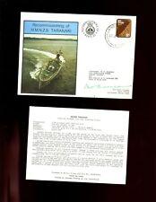 FDC  RNZN - Recommissioning  of HMNZS TARANAKI 1978,  signed