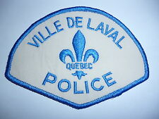 OBSOLETE LAVAL POLICE CANADA ARM PATCH.