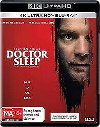 DOCTOR SLEEP 4K ULTRA HD - STEPHEN KING, EWAN MCGREGOR 4K ONLY FREE POST