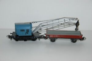 Märklin H0 4611 Mobile Crane With Low-Sided Top Condition