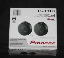 "Pioneer TST110 7/8"" Hard Dome Tweeters Surface Flush mounting Brand New  TS-T110"