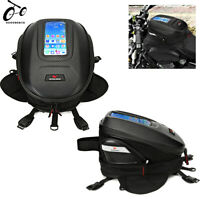 Motorcycle Tail Bag Rear Seat Hard Shell Fuel Tank Storage Bag Biker Saddlebags