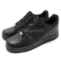 Nike Air Force 1 07 AF1 Triple Black Men Classic Shoes Sneakers 315122-001