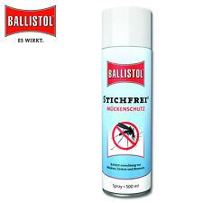 Ballistol 500ML Grabado Libre Repelente Spray contra los Mosquitos, Garrapatas,