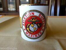 Vintage USMC MARINES AVIATION SUPPLY MAS MARINE CORP COFFEE MUG 1919-1993