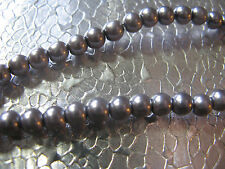 Glass Pearl Beads 4mm Jewelry Finding Steel 102 Round Spacer Beads