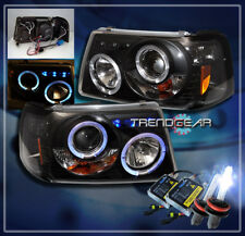 01-11 FORD RANGER HALO LED PROJECTOR HEADLIGHTS+HID XENON LAMP BLACK 02 03 04 05