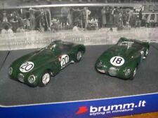 Voitures des 24 Heures du Mans miniatures verts Jaguar
