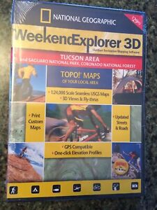 2007 National Geographic TOPO! Outdoor Mapping Software - Tucson Area - Saguaro