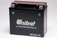 BATTERIA MOTO UNIBAT YUASA CBTX20-BS HARLEY-DAVIDSON XL/XLH Series 1100 87-93