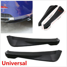 Car Side Skirt Rocker Splitters Diffuser Winglet 49CM Universal Glossy Black