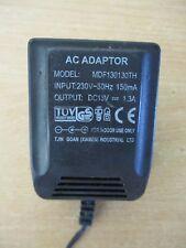 Adaptateur Secteur Chargeur 15V DC  1300mA MDF130130TH /BB29