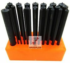 28-PC CENTER PUNCH Set Steel Transfer Punch Machinist Thread Tool Kit Set