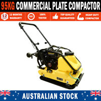 """95KG 20"""" Whacker Packer Industrial Plate Compactor Ductile Cast Iron Rammer"""