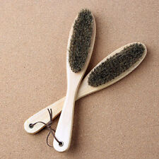 Wood Hog Bristle Clothes Dust Brush Pet Hair Remover Fabric Crumbs ige
