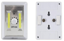 COB LED Dimmer Wall Switch Wireless Closet Night Light Multi-Use Self-Stick