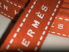 "1 HERMÈS brown gift Wrap ribbons .5"" Width x 36"" Inches ** FREE SHIP"
