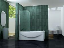 80 x 140 ONE-F Glas Badewannen Faltwand Duschwand Duschabtrennung Duschwand