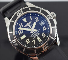 BREITLING SUPEROCEAN  A17364 42MM AUTOMATIC  BOX/PAPERS/ 2010 YR  1 YR WARRANTY