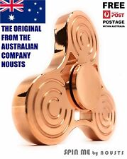 GENUINE SPIN ME COPPER, Top Metal Fidget Spinner, Luxury Quality, Long Spinning
