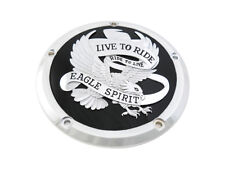 Black Eagle Spirit Live To Giro Di Derby Cover For Harley-Davidson Touring