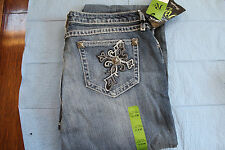 Women's Wrangler Pants 11X36 Rock 47 Heaven's Touch Boot Cut