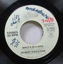 Rock Promo Nm! 45 Gilbert O'Sullivan - What'S In A Kiss / What'S In A Kiss On Ep