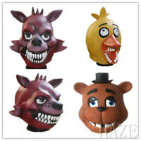 FNAF Five Nights at Freddy's Halloween Masquerade Cosplay Party Masks present
