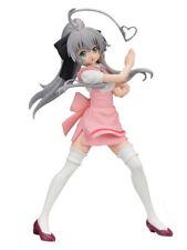 Haiyore! Nyaruko-san W Nyarlathotep Pink Maid PVC Figure