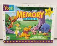 Disney Winnie the Pooh Memory Matching Game Card Board 1999 (Missing 1 Tile)