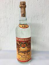 Grappa Montanaro Prodotta Nella Zona Del Barolo 1 Litro 45 Gradi Vintage