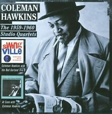 COLEMAN HAWKINS/RED GARLAND TRIO - SWINGVILLE/AT EASE WITH COLEMAN HAWKINS NEW C