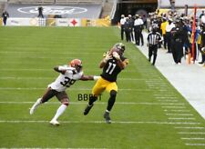 CHASE CLAYPOOL PITTSBURGH STEELERS ANOTHER SUPER CATCH 11x14 10/18/20 VS BROWNS