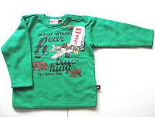 Sweat Shirt Gr.86 Lego Wear NEU 100% Baumwolle wildlife Pullover grün baby