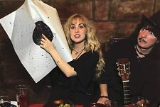 Ritchie Blackmore & Candice Night large RARE Candid Giclee Photograph on Paper