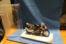 Diecast  Model Motorcycle  Aprilla 25V 1000    6 1/2 inches  in Case (case crack