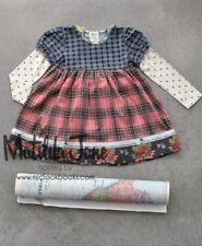 Girls Matilda Jane vintage field trip Chrissy Knot hooded Dress size 4 6 EUC